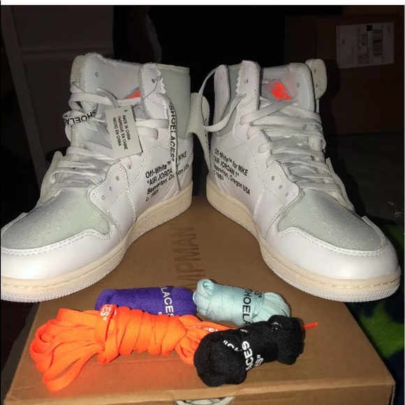 lowest price 3dad0 6b3bb Off-white x Air Jordan 1 retro high OG